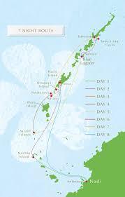 fiji resort map fiji island cruises cruise itineraries with blue lagoon cruises