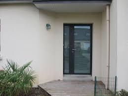 porte d ent de cuisine cuisine pose de porte d entrã e aluminium contemporaine et design