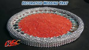 How To Make Wedding Decorations How To Make Wedding Tray Diy Wedding Tray Decoration Ideas