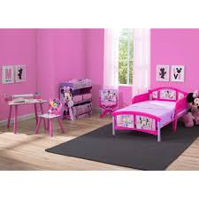 Walmart Bedroom Sets Disney Minnie Mouse Bedroom Set With Bonus Toy Organizer Walmart