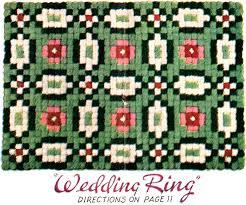 Pom Pom Rug Instructions Pom Pon Rug Pattern For A Fluff Rug Called Wedding Ring Vintage