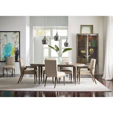 mid century modern formal dining room group by american drew