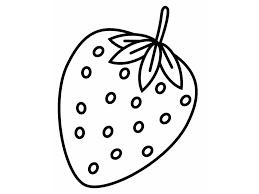 strawberries coloring page printable of strawberry coloring pages