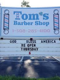 tom s barber shop home