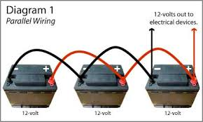 parallel wiring of batteries