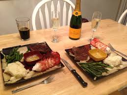 steak and lobster dinner valentines day food ideas