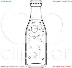 water bottle coloring page free download