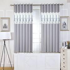 rideau de cuisine et gris rideaux cuisine gris unique panneaux gris court chambre rideaux