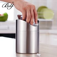 Bathroom Waste Basket by Online Shop Europe Style Stainless Steel Trash Basket Large