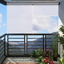 seitenmarkise balkon außenrollo balkon haus ideen