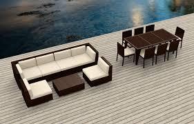 Modern Wicker Patio Furniture - brown series 16 ultra modern wicker patio set www