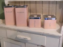 pink canisters kitchen 56 best kitchen canisters images on kitchen canisters