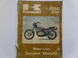kawasaki kz550 f1 g1 and m1 factory workshop maintenance manual