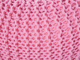 pouf rosa 50 x 35 cm conrad beliani hu