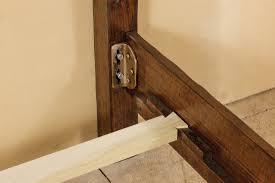 orig frame side rail hardware brackets white bedrail picture ers size platform t s woodworki headboard kits exte