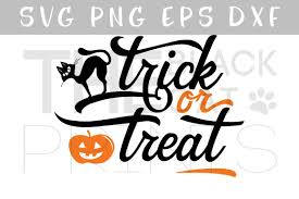 trick or treat svg dxf png eps hallowee design bundles