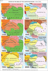 Map Of Europe 1648 by States In The Area Of The Carpathian Basin 1648 2009 1896x2784