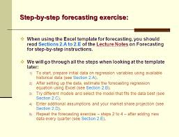 Demand Forecasting Excel Template by Sales Forecasting Production Planning Ppt