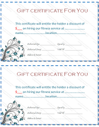 blue bale gift certificate template printable templates