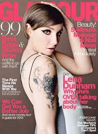 Magazine Usa Lena Dunham U0027s Glamour April 2014 Issue Cover Photos Glamour