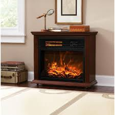 xtremepowerus infrared quartz electric fireplace heater finish