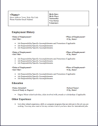 Job Specific Resume by Free Resume Downloads Free Resume