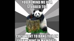 Pick Up Line Panda Meme - tgmp zkušební díl pickup line panda youtube