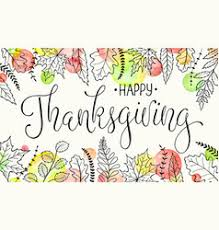 happy thanksgiving poster royalty free vector image