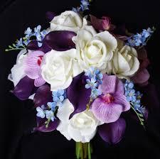 purple calla lilies floramatique touch purple calla lilies bouquet