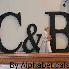 initial letter wall decor gingembre co