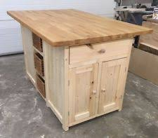 handmade kitchen islands handmade kitchen islands carts with shelves ebay