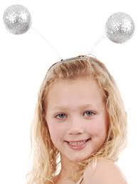 headband online silver glitter antennae band bopper party supplies