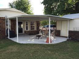 Carport Attached To House Patio Deck Covers G U0026 L Carports