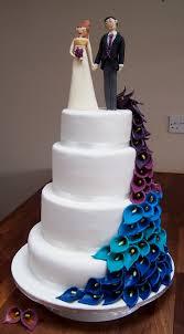 fondant wedding cakes 11 peacock wedding cupcakes no fondant photo peacock wedding