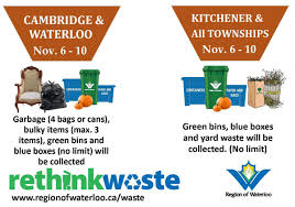 city of kitchener garbage collection catherine thompson thompsonrecord twitter