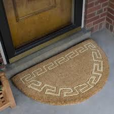 Unique Doormats Half Circle Doormat Custom Door Mats Outdoor Matshalf Fantastic