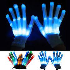 Light Up Gloves Rave Gloves Ebay