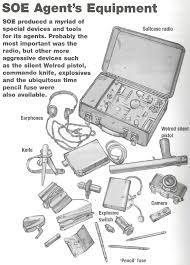 soe equipment secret heroes pinterest