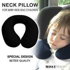 sleeping accessories neck pillow cushion protector for baby kid children sleeping