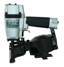 Coil Nails Home Depot by Hitachi Nv45ab2 7 8 Inch To 1 3 4 Inch Coil Roofing Nailer Side