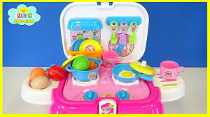 Plastic Toy Kitchen Set Learning For Toddlers U0026 Children Toy Kitchen Cooking Play Set