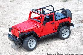 lego mini jeep sheepo u0027s garage jeep wrangler rubicon jk