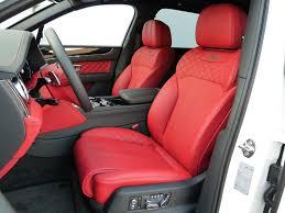 bentley bentayga red interior bentley bentayga suv 2017