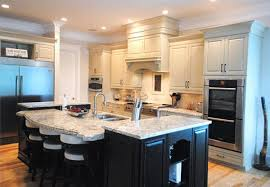 multi level kitchen island gallery