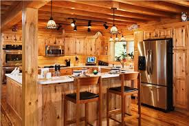 Log Cabin Kitchens - Cabin kitchen cabinets
