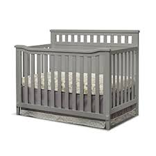 Sorelle Convertible Crib Sorelle Madrid 4 In 1 Convertible Crib Grey Baby