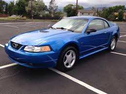 2000 blue mustang blue metallic 2000 ford mustang gt for sale mcg marketplace
