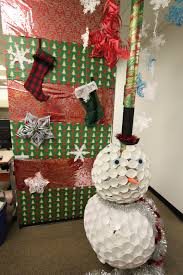 Office Christmas Door Decorating Contest Ideas Holiday Decorations For The Office Rsz Snowflakes Holiday