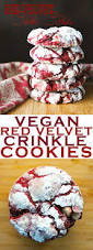 bite into this perfect holiday treat red velvet crinkle cookies