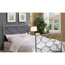 Headboard Footboard Silver Queen Full Size Combo Headboard Footboard Only I